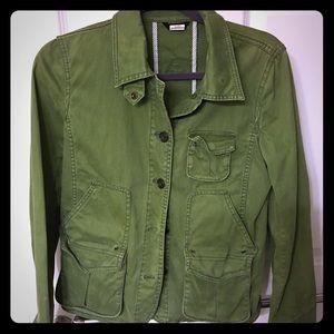 JCrew barn jacket